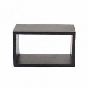 Box-System extra small black von mater design