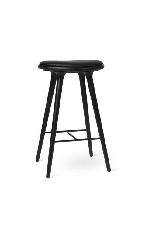 Barhocker Eiche schwarz von mater design