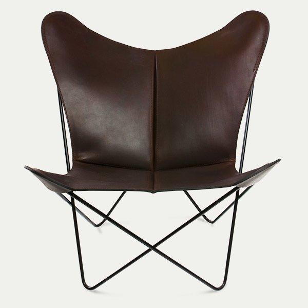 Trifolium Stuhl Schwarz -schwarzer Rahmen