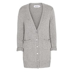Cardigan Stinna grey melange von Care by me