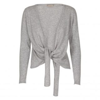 Cardigan Marie Wrap light greyvon Care by me