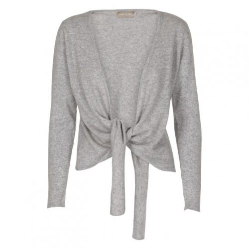Cardigan Marie Wrap light grey von Care by me