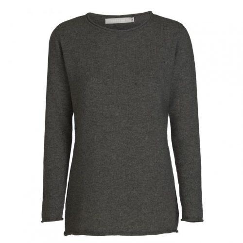 Pullover Marie Basic dark grey von Care by me