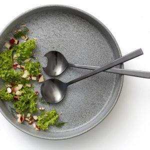 Salatschüssel mit Besteck von Christian Bitz