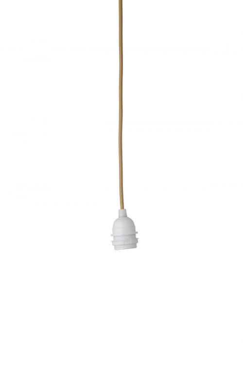 Kabelfassung für Lampe mit Farnblatt Motiv