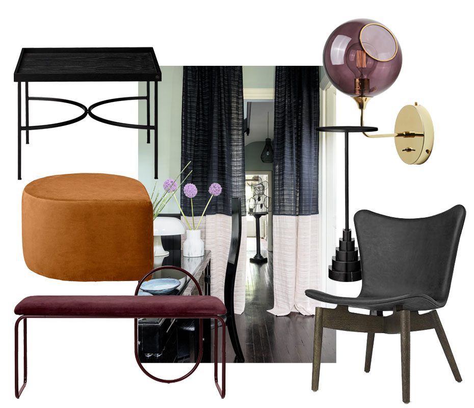Mood mit Möbeln von Materdesign, Design by us, Aytm und Elitis