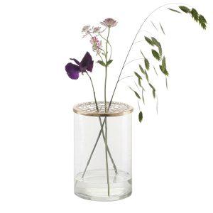 Vase Kassandra von ASM mit Blumen