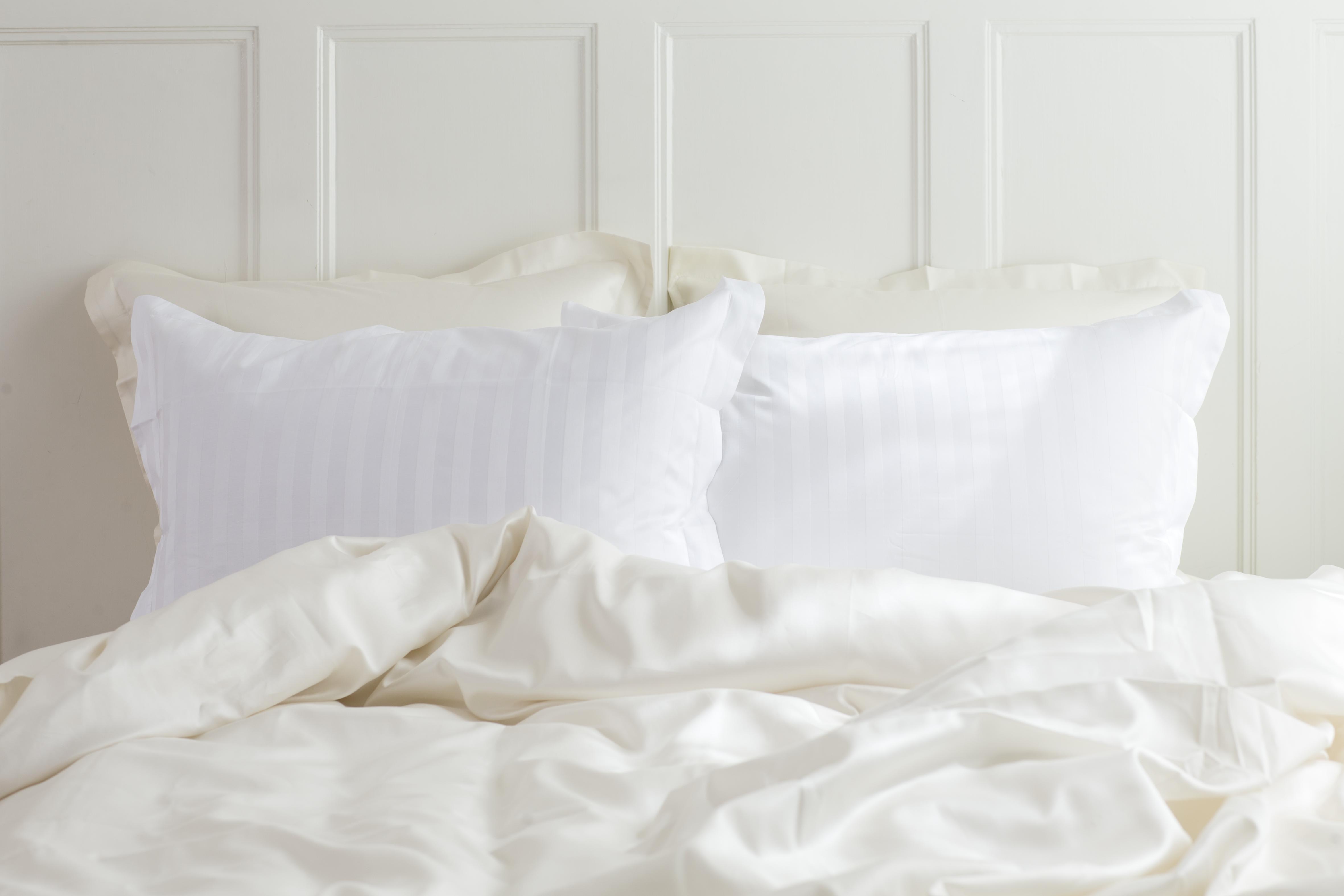 kopfkissenbezug satin von geismars aus feinster gyptischer baumwolle. Black Bedroom Furniture Sets. Home Design Ideas