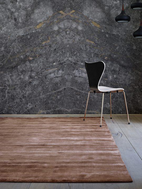 Bamboo Teppich copper von Massimo