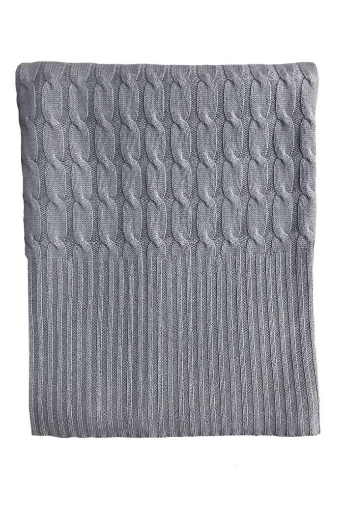 Plaid Comfortable von Care mid grey