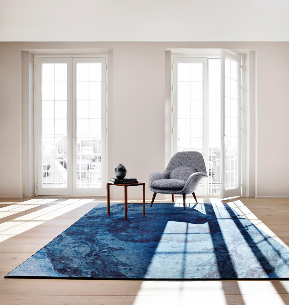 Kunstdruckteppiche Reflection VII Massimo