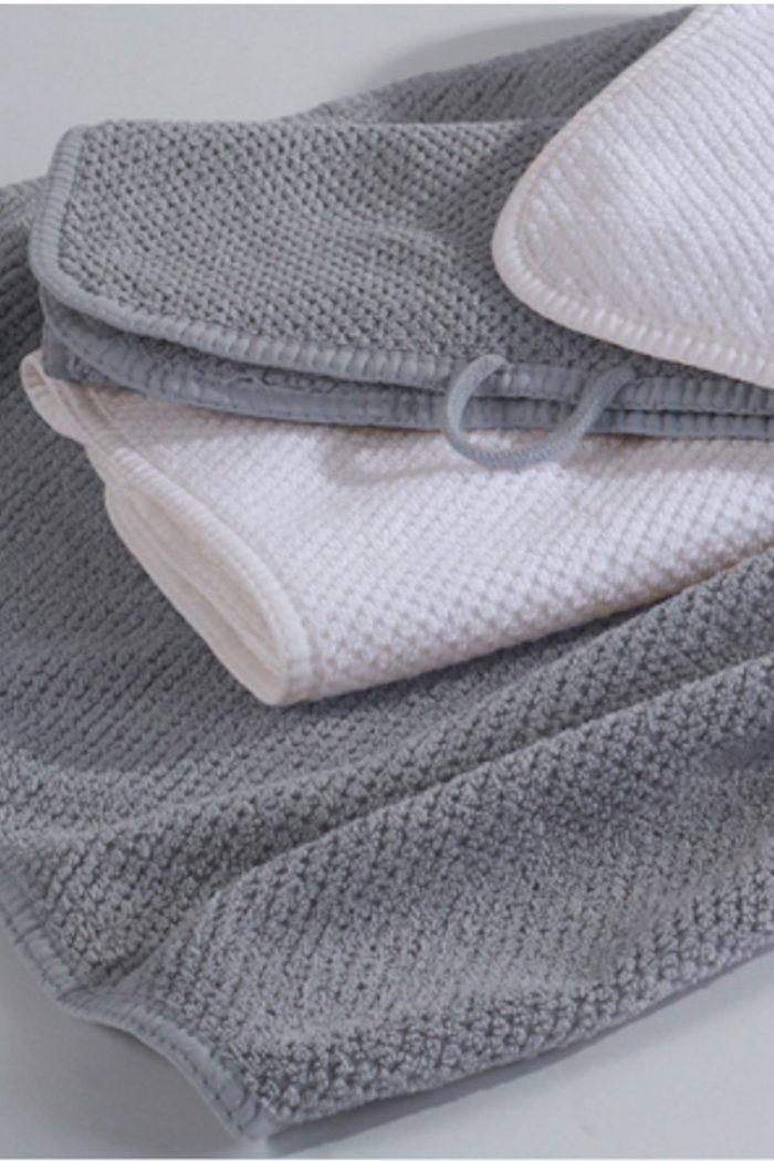 Handtücher und Badvorleger: Duschtuch im 2er Set aus gekämmter Baumwolle