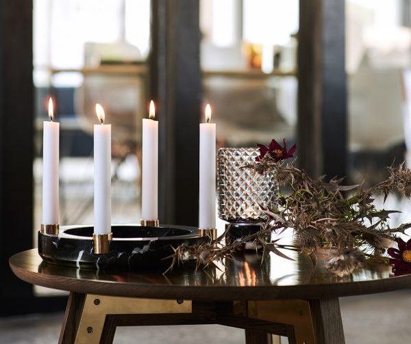 Adventszeit mit Kerzenhalter Sons of Marble O Ring Design by us