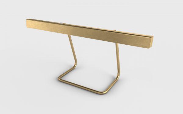 T-Modell Tischleuchte Messing gebürstet von Anour