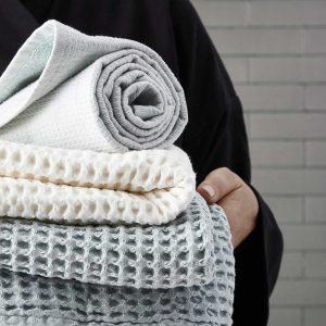 Handtücher und Geschirrtücher