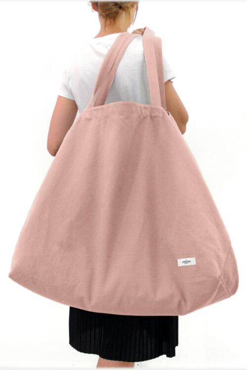 Textilien – Stofftaschen und Schürzen – Große Tasche Big Long Bag aus organischer Baumwolle in fünf attraktiven Farben
