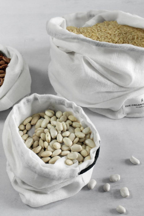 Nachhaltige Foods Bags - natural white