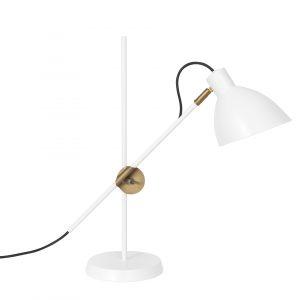 KH#1 Tischlampe weiß Konsthantverk