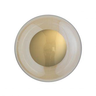 Deckenlampe Horizon Ø 21 cm von Ebb & Flow golden smoke
