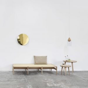 Imago Mirror Object brass von mater design