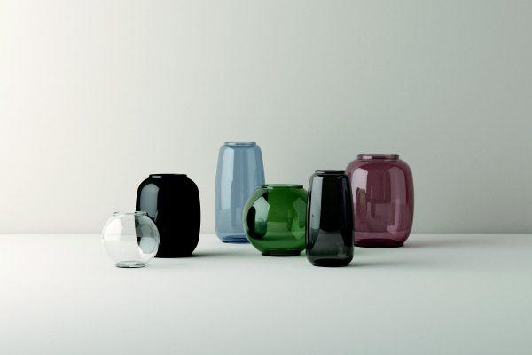 Lyngby Form Vase rund 14 cm