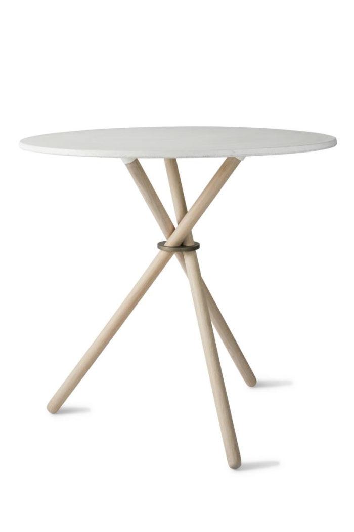 Café-Tisch Aldric white eberhart furniture