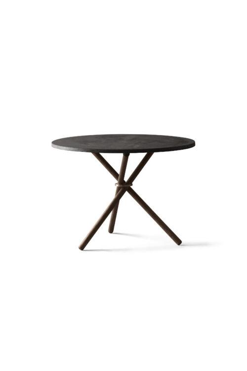 Couchtisch Daphne hellgrau Ø 65 cm eberhart furniture