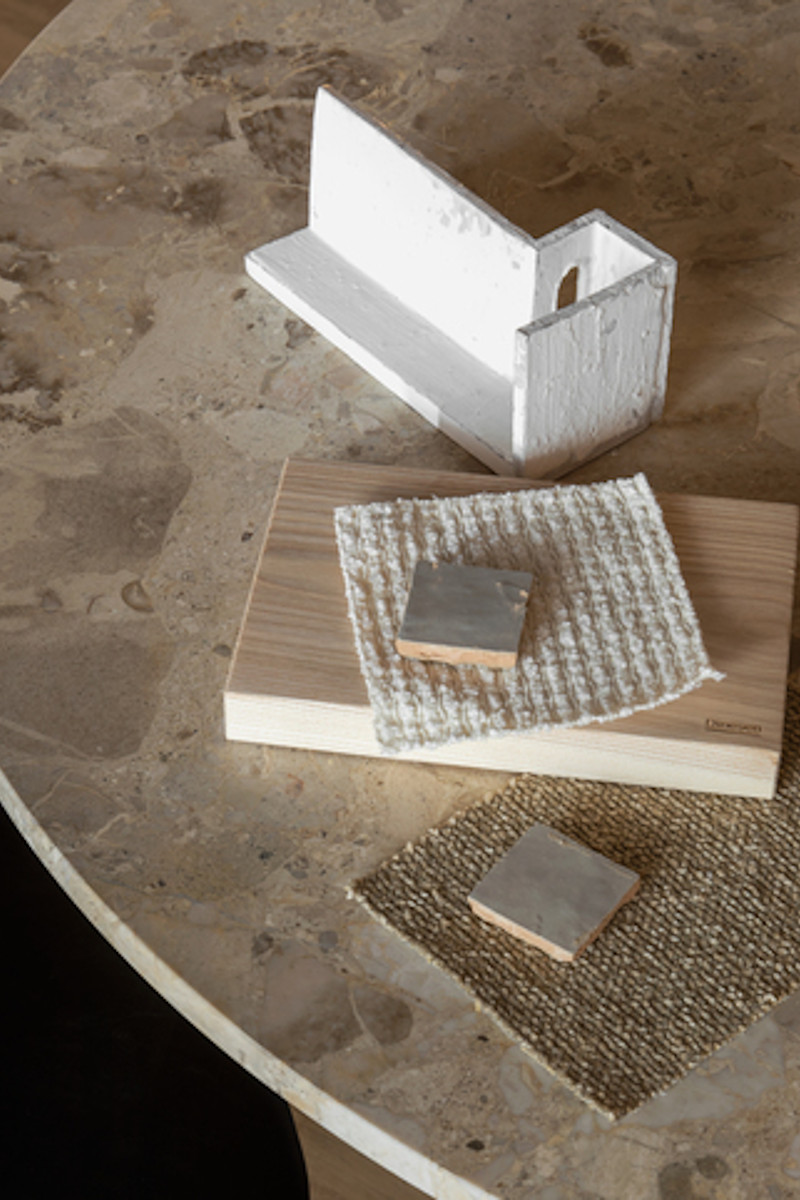 Marmor Esstisch Androgyne von Menu
