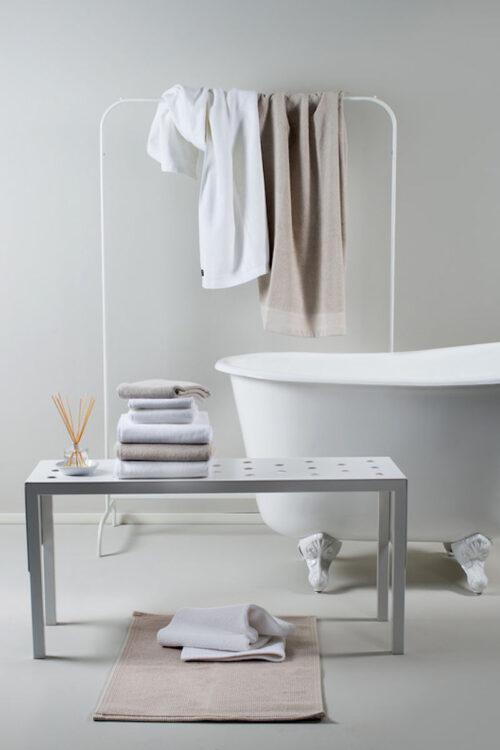 Handtücher und Badvorleger: Badevorleger aus Baumwolle