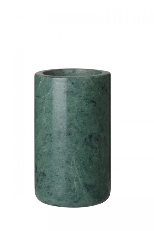 kleine Vase aus Marmor Louise Roe grün