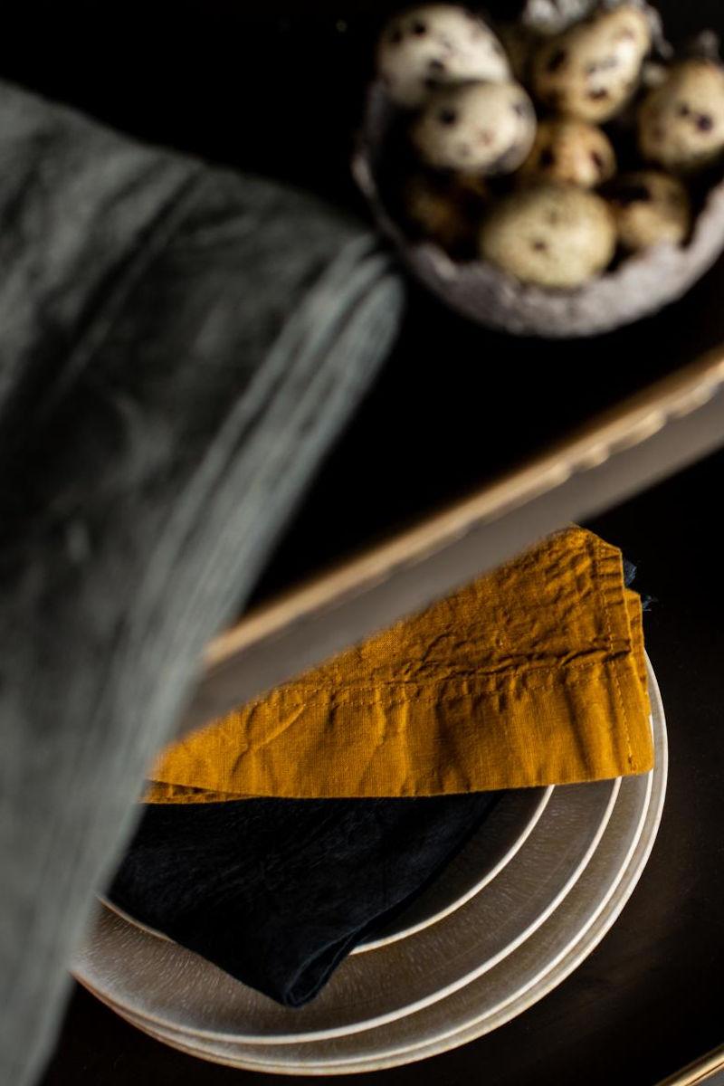 Tischwäsche - Stoffservietten aus festem Leinen von Lissoy