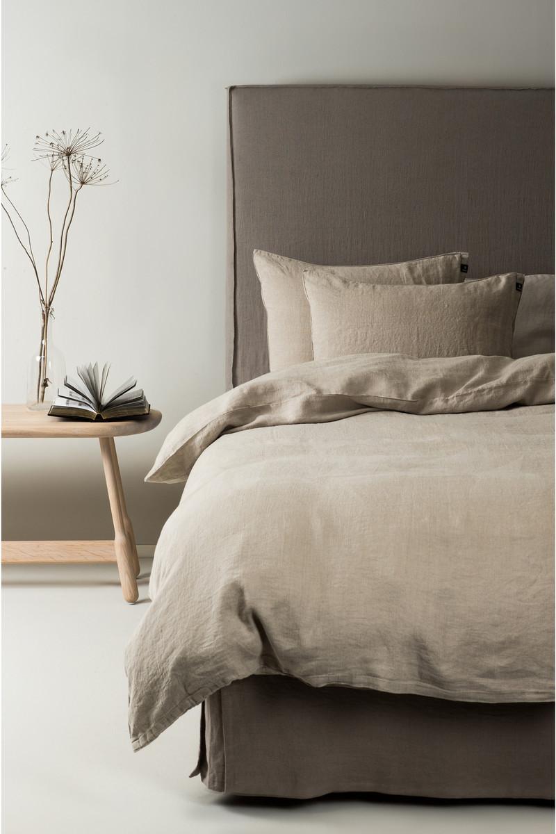 Herrliche Leinenbettwäsche Sunshine - Bettbezug natural