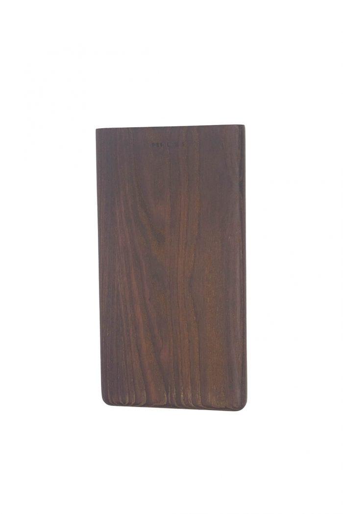 Küche: kleines Holzbrettchen Yami aus dunklem Eschenholz von muubs