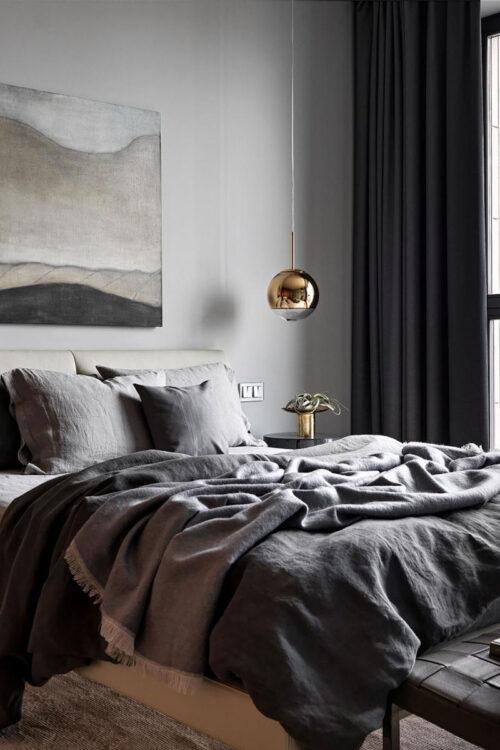 Bettwäsche: Bettbezug aus edlem Leinen von Lissoy