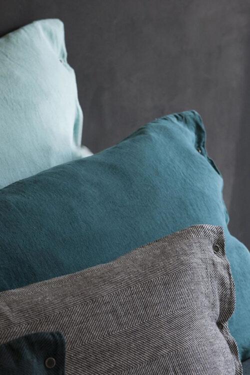 Bettwäsche: Kissenbezug aus edlem Leinen von Lissoy