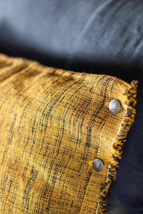 Textilien: Kissen - Kissenhülle Couture Lissoy laiton black