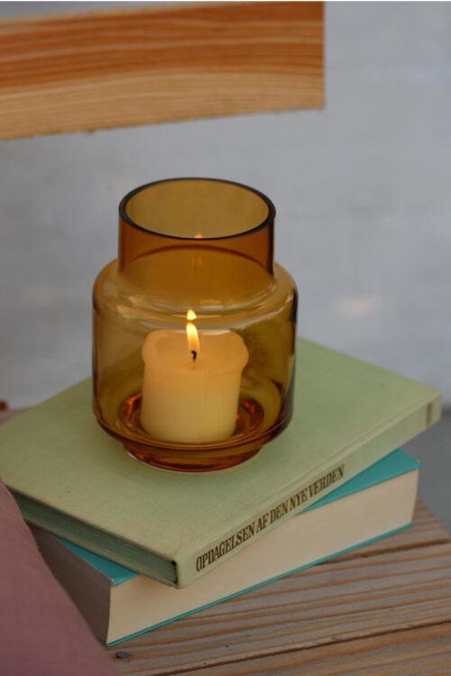 Accessoires: Windlicht No. 53 amber von Ro Collection
