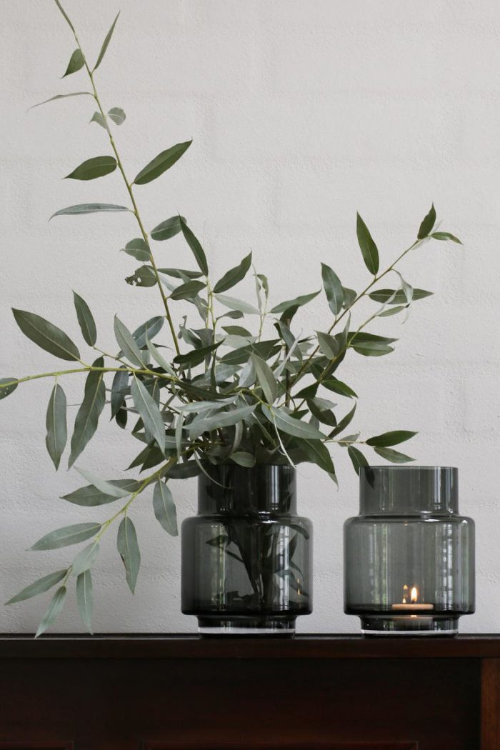 Accessoires: Windlicht No. 53 Smoke on Ro Collection