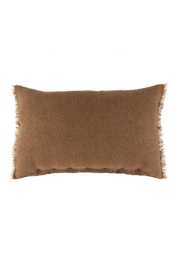 Textilien: Kissenbezug Chanvre Lissoy caramel