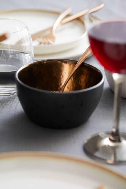 Küche – Geschirr – kleine Schüssel in Bronze 10 cm Christian Bitz