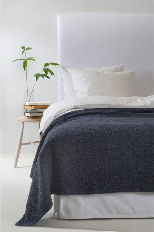 Textilien – Tagesdecken und Plaids – Tagesdecke Dani aus Bio-Baumwolle von Himla