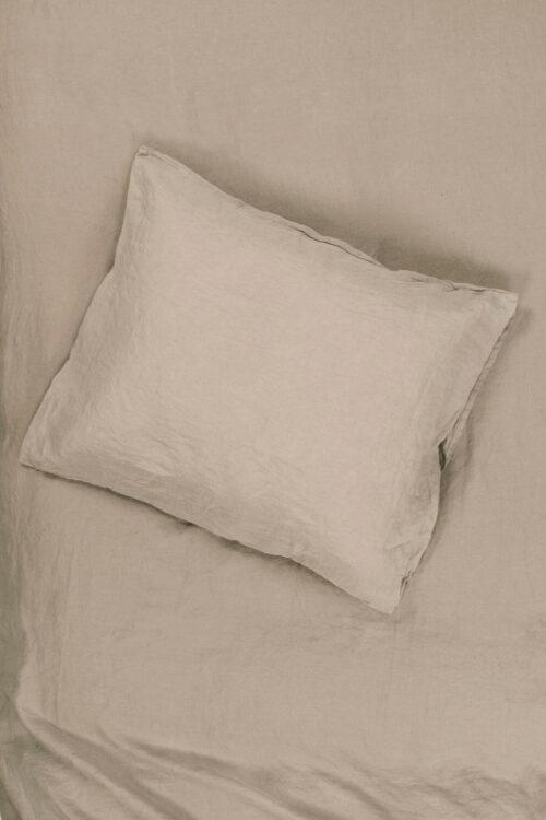 Textilien - Bettwäsche - Kissenbezug aus hochwertigem Leinen in vielen Farben