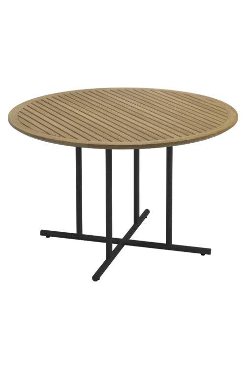 Outdoor - Whirl Tisch aus Teakholz mit Gestell aus Edelstahl für den Außenbereich