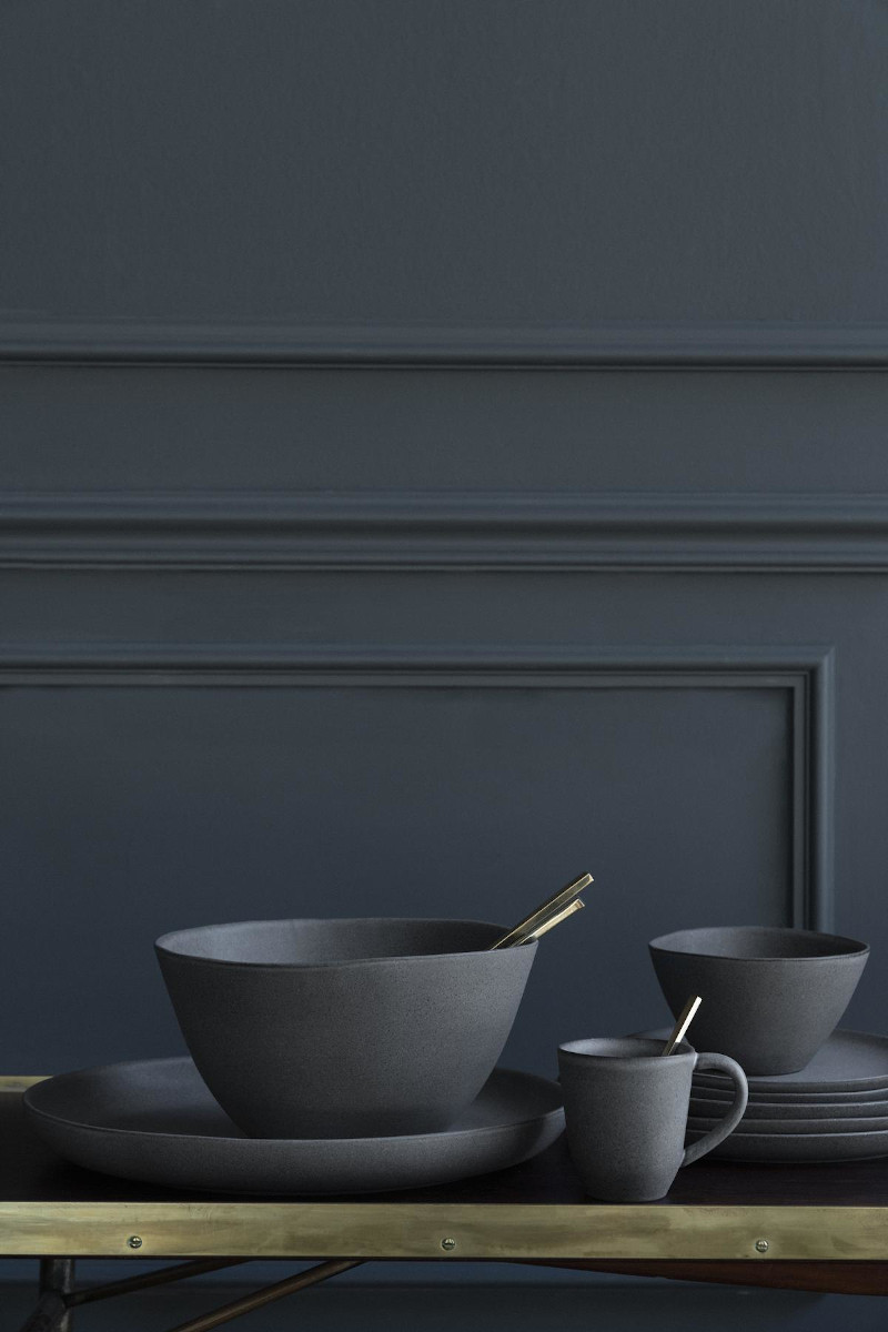 Küche - Geschirr Set aus Steingut für 6 Personen von Klassik Studio Kopenhagen